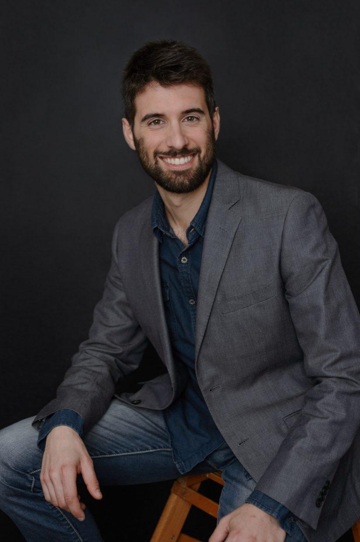 Ritratto di un uomo d'affari - Ritratto professionale/personal Branding - Borgo Leoni Fotografia - Fotografo Ferrara, Bologna ed Italia