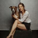 Ritratto del cane con il suo padrone - Borgo Leoni Fotografia di animali a Ferrara e Bologna