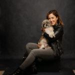 Ritratto di donna con il suo cane presso Bomb Studio - Borgo Leoni Fotografia a Ferrara, Bologna ed Italia
